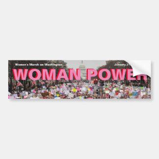 FRAUEN-POWER! Fantastisch mit Million Frauen sehen Autoaufkleber