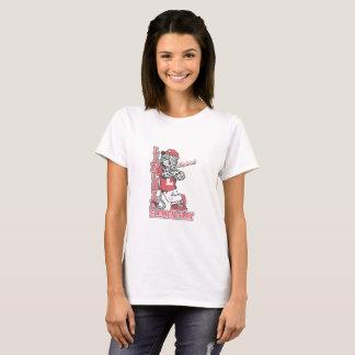 Frauen-Shirt-Weiß Lincolns grundlegendes T-Shirt