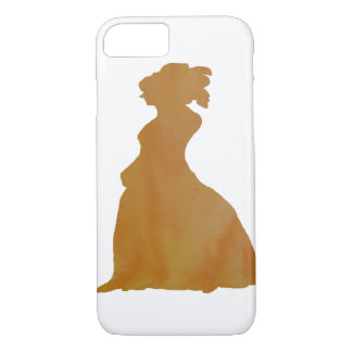 Frauen-Silhouette iPhone 7 Hülle