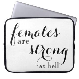 Frauen sind gute Laptop-Gründe Laptop Sleeve