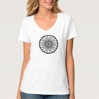 Frauen, T-Shirt London-Auge