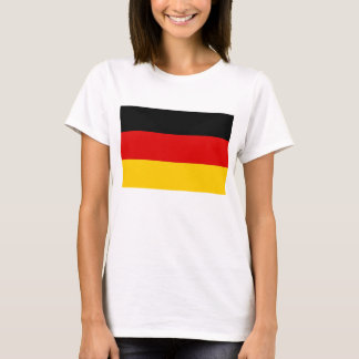 Frauen-T-Shirt mit Flagge von Deutschland T-Shirt
