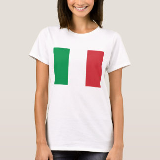 Frauen-T-Shirt mit Flagge von Italien T-Shirt