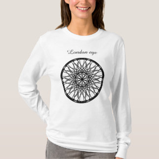 Frauen, T - Shirtlondon-Auges. T-Shirt