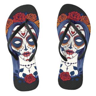 Frauen-Tag der Toten Flip Flops