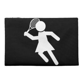 Frauen-Tennis-Spieler - Tennis-Symbol (auf