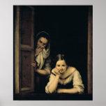 Frauen von Galizien am Fenster, 1670 Posterdruck