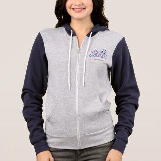 Frauen-Ziphoodie-kundenspezifisches Ereignis-Logo Hoodie