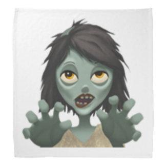 Frauen-Zombie - Emoji Kopftuch
