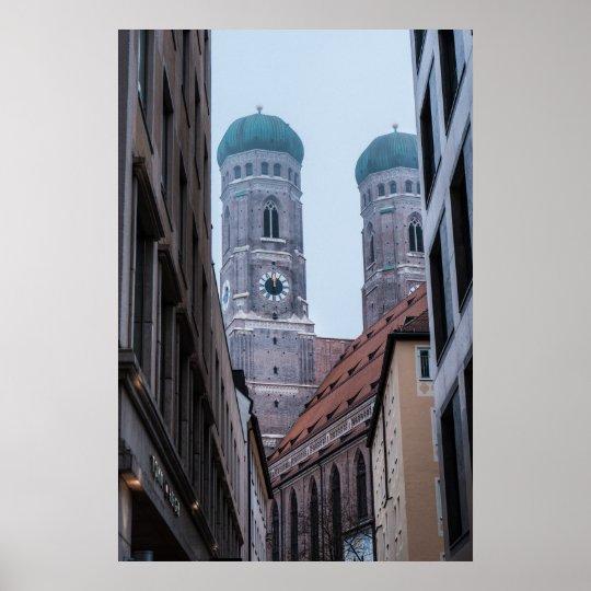 Frauenkirche München Poster
