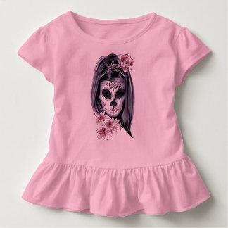 Frauenskelettmaske Kleinkind T-shirt