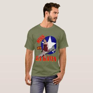 Fräulein Behavin' 1944 des Bomber-WW2 T-Shirt