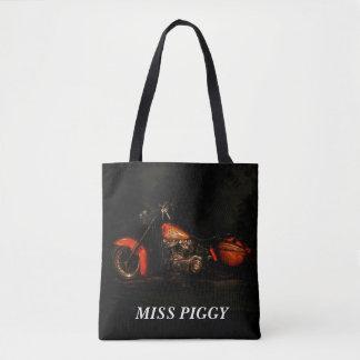 Fräulein Piggy Canvas Bag Tasche