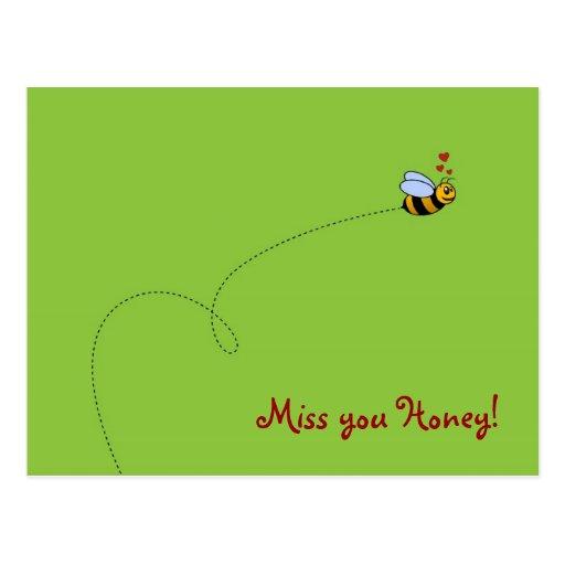 Fräulein Sie Honig! Postkarten