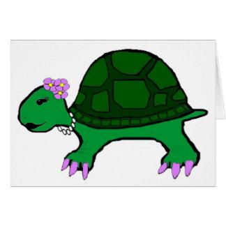 Fräulein Turtle Karte