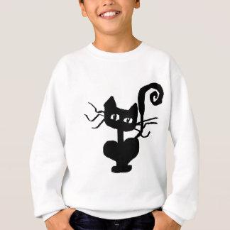 Frazzle-Miezekatze-Kleidung Sweatshirt