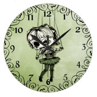 Freaky Marionetten-Puppe Uhren