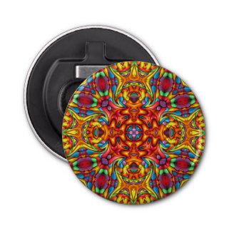 Freaky Tiki Kaleidoskop-magnetische Flaschenöffner