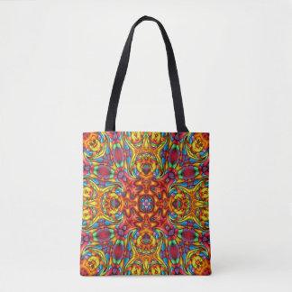 Freaky Tiki Vintage Kaleidoskop-   Taschen-Tasche Tasche
