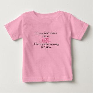 Frech, Baby-Prinzessin Tshirt