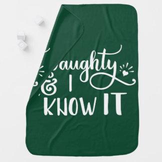 frech und ich kennen Sie es lustiges Weihnachten Babydecke
