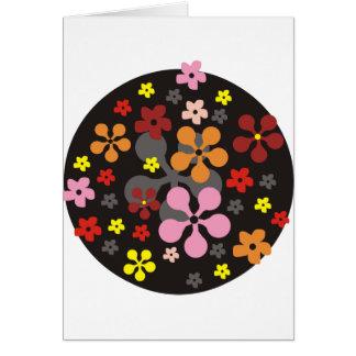 Freche Blumen Karte