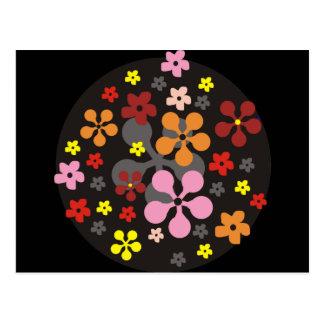 Freche Blumen Postkarten