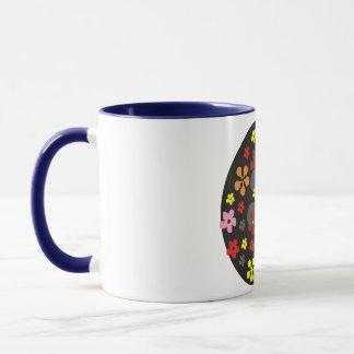 Freche Blumen Tasse
