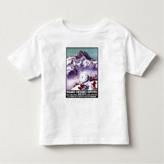 Freche Gnomes, die riesiges Schneeball-Plakat Shirts