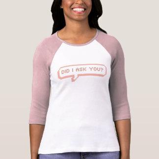 Freche Sprache-Blase T-Shirt