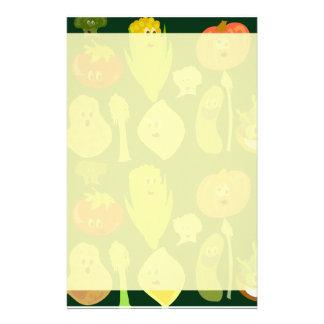 Freche Veggies! Briefpapier