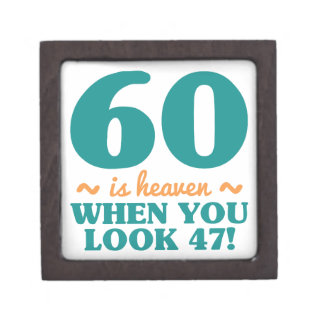 Frecher 60. Geburtstag Kiste