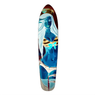 Frecher Nox-Seemann-langes Probrett Skateboarddecks