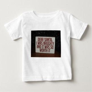 FRECHER SANKT-WEIHNACHTSdekor Baby T-shirt