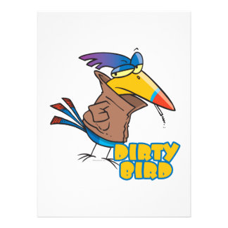 frecher toucan Cartoon des lustigen schmutzigen Einladungen