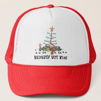 freches aber Nizza Weihnachten s erstes Truckerkappe