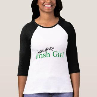 Freches irisches Mädchen T-Shirt
