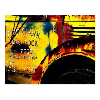Fred Clark Postkarte