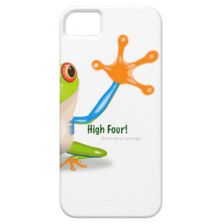 """Freddie Frosch """"hohe vier """" Hülle Fürs iPhone 5"""