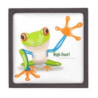 """Freddie Frosch """"hohe vier """" Schachtel"""