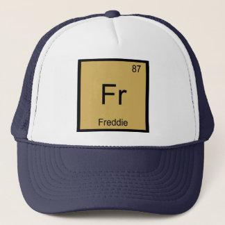 Freddie Namenschemie-Element-Periodensystem Truckerkappe