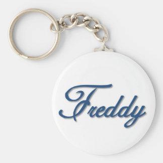 Freddy Standard Runder Schlüsselanhänger