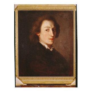 Frederic Chopin Postkarte