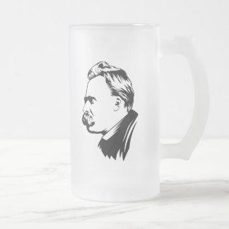 Frederich Nietzsche Porträt Tee Haferl