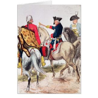 Frederick II das große Karte
