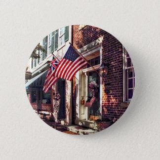 Fredericksburg VA - Straße mit amerikanischen Runder Button 5,1 Cm