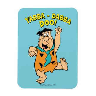 FredFlintstone Yabba-Dabba Doo! Magnet