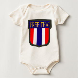 Free_Thai_insignia Baby Strampler