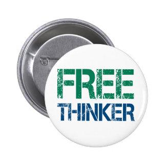 Freethinker Runder Button 5,7 Cm