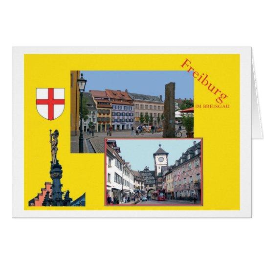 Freiburg im Breisgau Karte